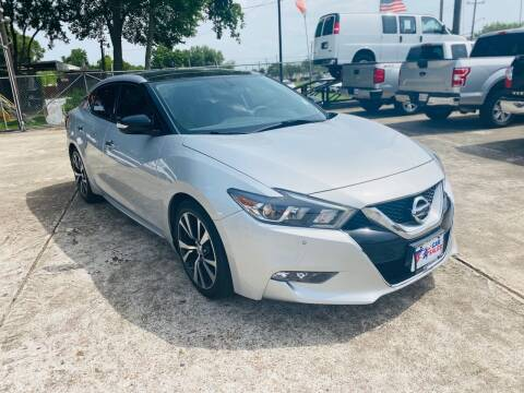 2017 Nissan Maxima for sale at HOUSTON CAR SALES INC in Houston TX