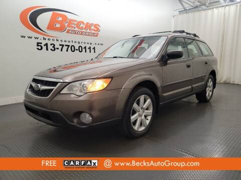 2008 Subaru Outback for sale at Becks Auto Group in Mason OH