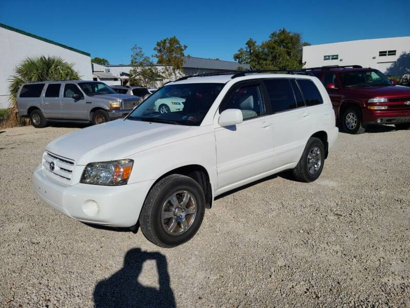 2004 Toyota Highlander for sale at CAR-RIGHT AUTO SALES INC in Naples FL