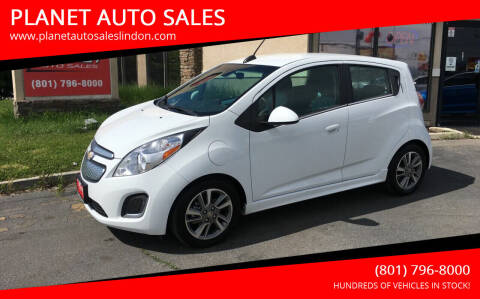 2015 Chevrolet Spark EV for sale at PLANET AUTO SALES in Lindon UT