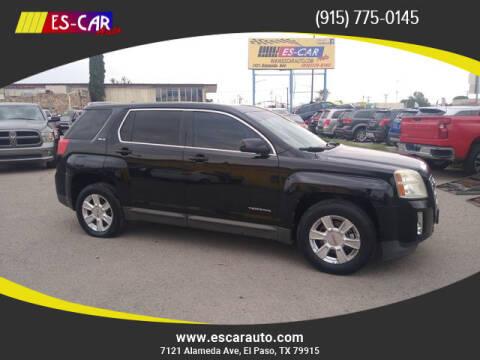 2011 GMC Terrain for sale at Escar Auto in El Paso TX