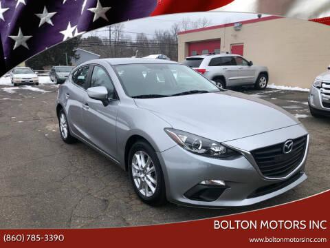 2014 Mazda MAZDA3 for sale at BOLTON MOTORS INC in Bolton CT