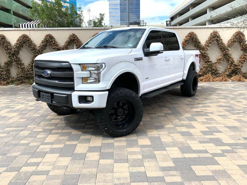 2015 Ford F-150 for sale at ROGERS MOTORCARS in Houston TX