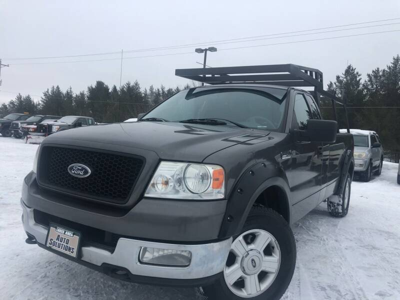 2004 Ford F-150 for sale at Lakes Area Auto Solutions in Baxter MN
