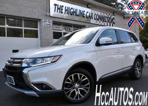 2018 Mitsubishi Outlander for sale at The Highline Car Connection in Waterbury CT