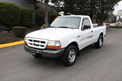 1999 Ford Ranger for sale at SS MOTORS LLC in Edmonds WA