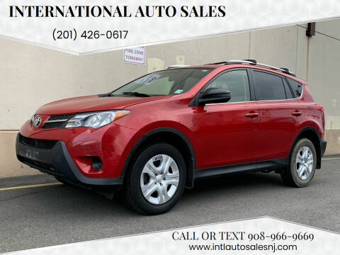 2015 Toyota RAV4 for sale at International Auto Sales in Hasbrouck Heights NJ