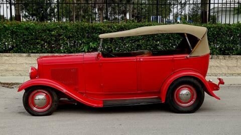 1932 Ford phaeton for sale at Premier Luxury Cars in Oakland Park FL