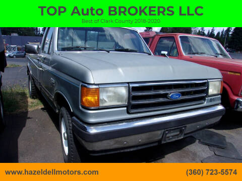 1990 Ford F-150 for sale at TOP Auto BROKERS LLC in Vancouver WA