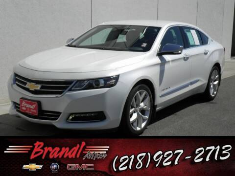 2016 Chevrolet Impala for sale at Brandl GM in Aitkin MN