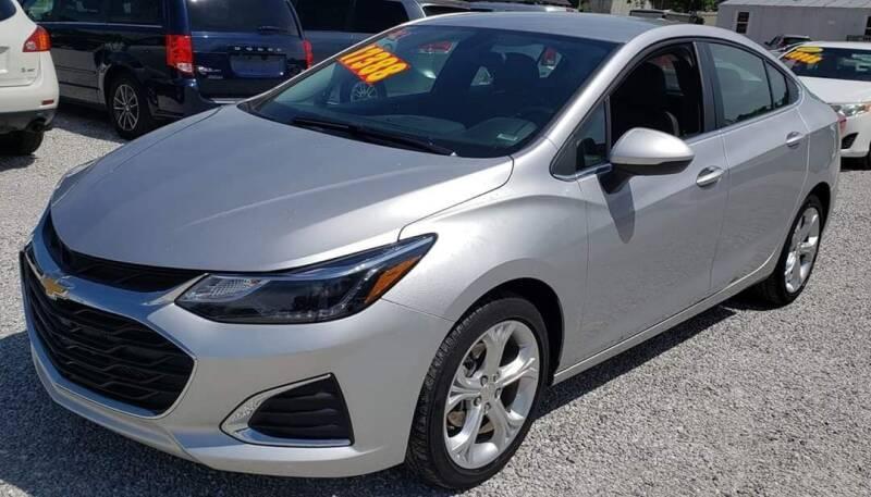 2019 Chevrolet Cruze for sale at COOPER AUTO SALES in Oneida TN