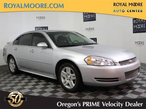 2012 Chevrolet Impala for sale at Royal Moore Custom Finance in Hillsboro OR