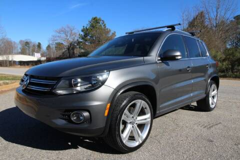 2016 Volkswagen Tiguan for sale at Oak City Motors in Garner NC