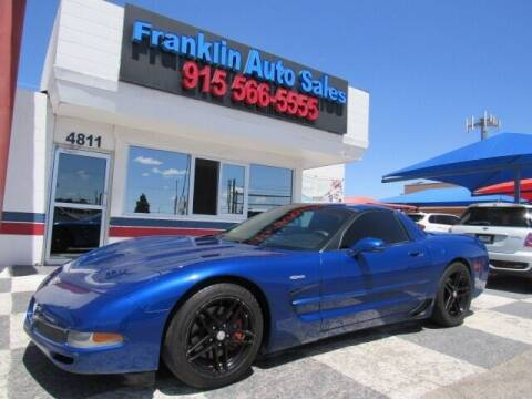 2003 Chevrolet Corvette for sale at Franklin Auto Sales in El Paso TX