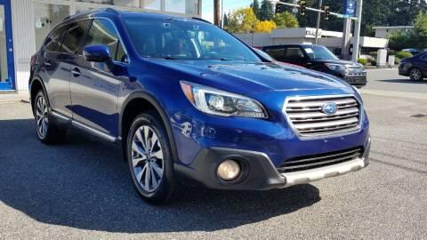 2017 Subaru Outback for sale at Seattle Auto Deals in Everett WA