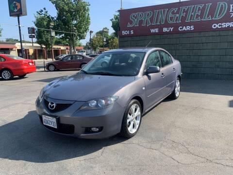 2008 Mazda MAZDA3 for sale at SPRINGFIELD BROTHERS LLC in Fullerton CA
