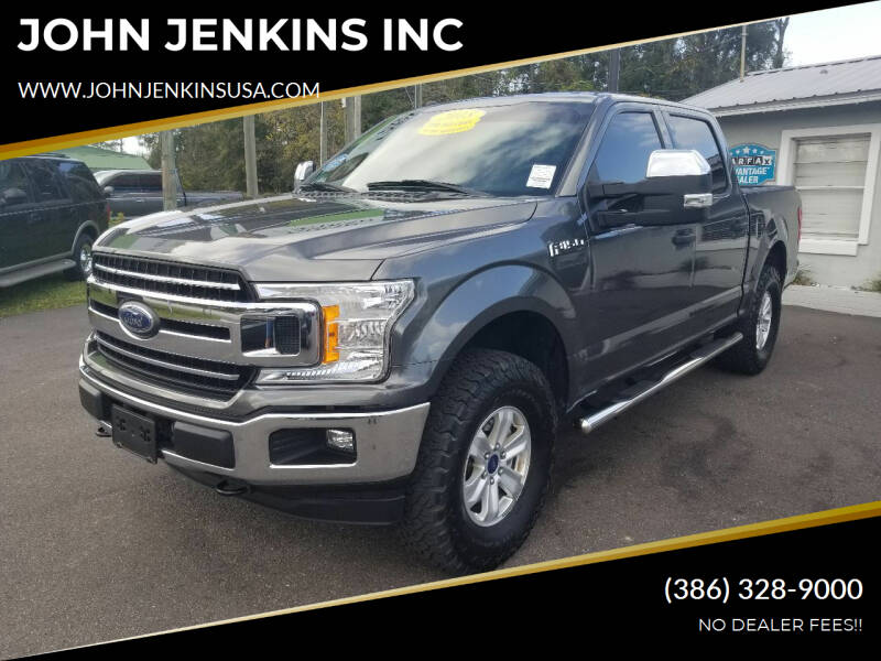 2018 Ford F-150 for sale at JOHN JENKINS INC in Palatka FL