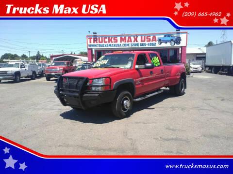2003 Chevrolet Silverado 3500 for sale at Trucks Max USA in Manteca CA