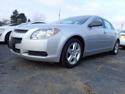 2010 Chevrolet Malibu for sale at RPM AUTO SALES in Lansing MI