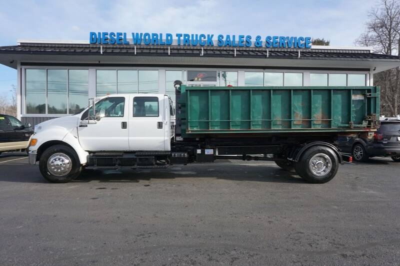 2011 Ford F-750 Super Duty for sale at Diesel World Truck Sales in Plaistow NH