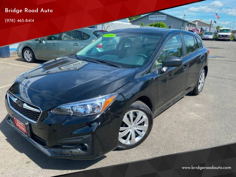 2019 Subaru Impreza for sale at Bridge Road Auto in Salisbury MA