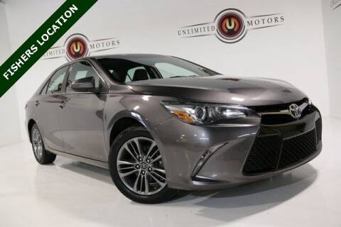 2016 Toyota Camry for sale at Unlimited Motors in Fishers IN