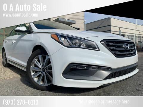 2016 Hyundai Sonata for sale at O A Auto Sale in Paterson NJ