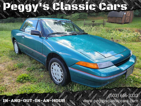 1992 Mercury Capri for sale at Peggy's Classic Cars in Oregon City OR
