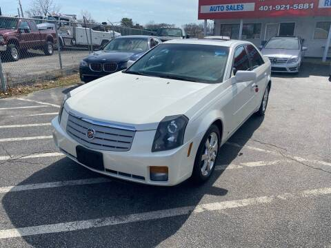 2007 Cadillac CTS for sale at Sandy Lane Auto Sales and Repair in Warwick RI