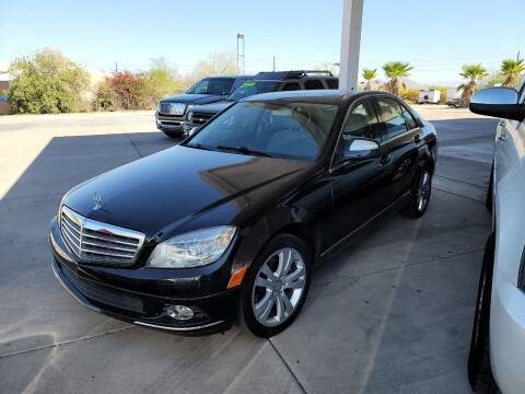2008 Mercedes-Benz C-Class for sale at Carzz Motor Sports in Fountain Hills AZ