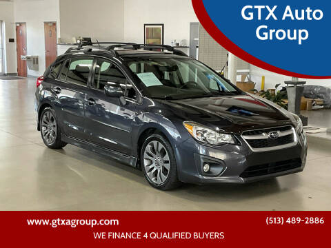 2013 Subaru Impreza for sale at GTX Auto Group in West Chester OH