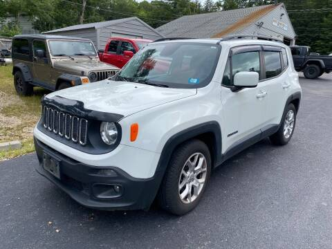 2015 Jeep Renegade for sale at Route 4 Motors INC in Epsom NH