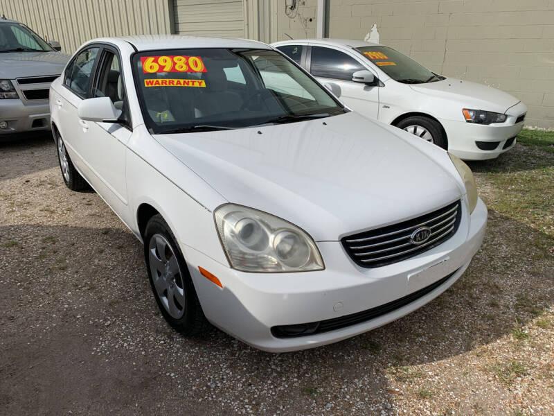 2007 Kia Optima for sale at CHEAPIE AUTO SALES INC in Metairie LA