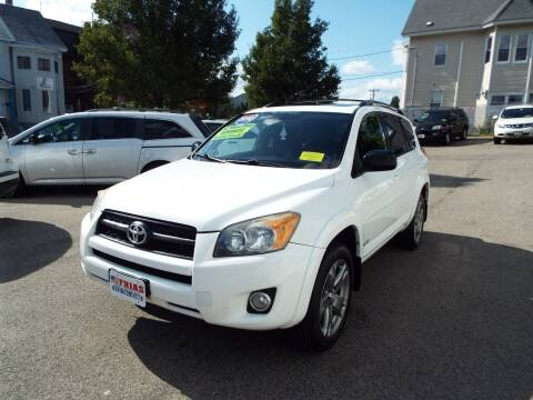 2010 Toyota RAV4 for sale at FRIAS AUTO SALES LLC in Lawrence MA