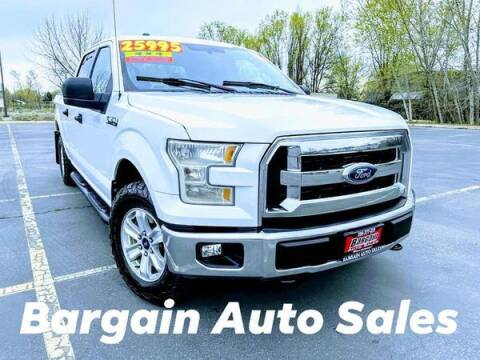 2016 Ford F-150 for sale at Bargain Auto Sales LLC in Garden City ID