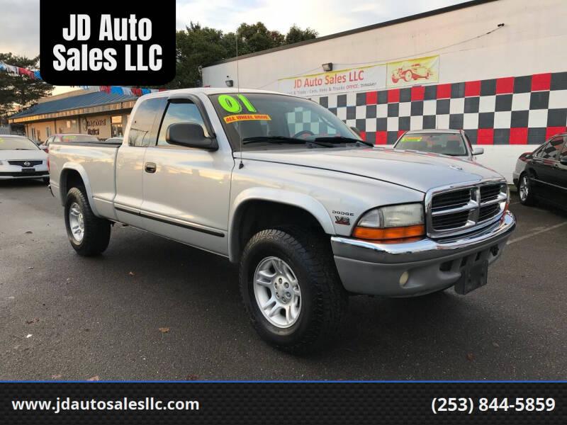 2001 Dodge Dakota for sale at JD Auto Sales LLC in Fife WA