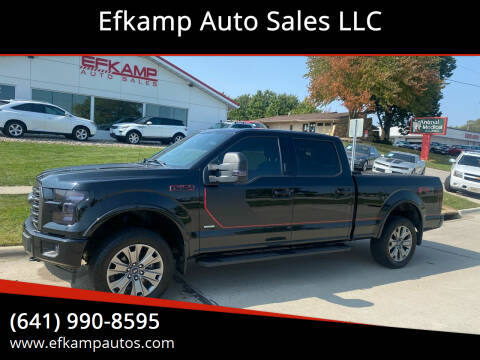 2017 Ford F-150 for sale at Efkamp Auto Sales LLC in Des Moines IA