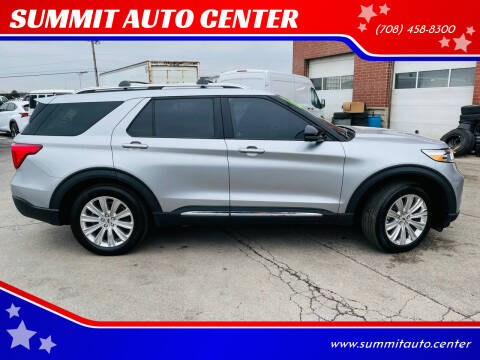 2020 Ford Explorer Hybrid for sale at SUMMIT AUTO CENTER in Summit IL