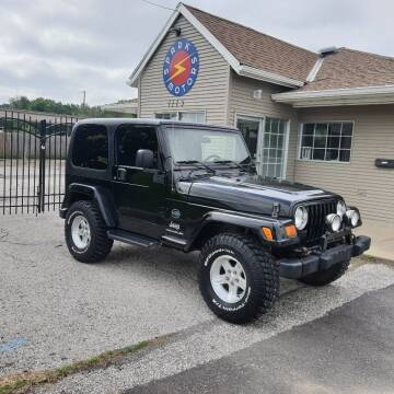2005 Jeep Wrangler for sale at Spark Motors in Kansas City MO