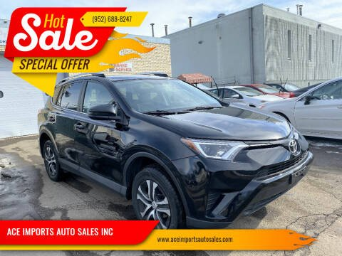 2016 Toyota RAV4 for sale at ACE IMPORTS AUTO SALES INC in Hopkins MN