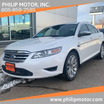 2011 Ford Taurus for sale at Philip Motor Inc in Philip SD