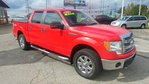 2013 Ford F-150 for sale at AutoBoss PRE-OWNED SALES in Saint Clairsville OH