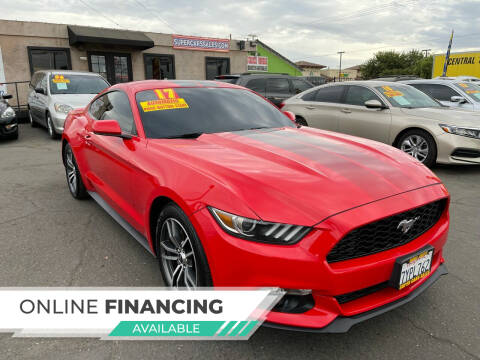 2017 Ford Mustang for sale at Super Cars Sales Inc #1 in Oakdale CA