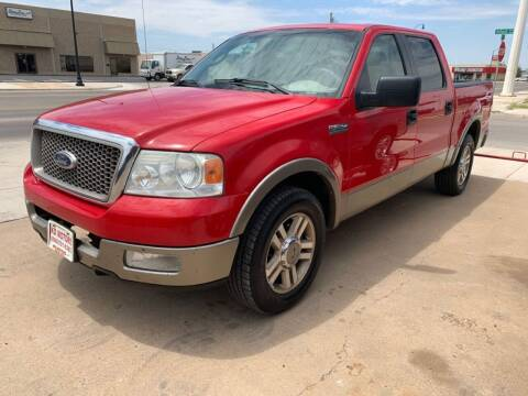 2005 Ford F-150 for sale at KD Motors in Lubbock TX