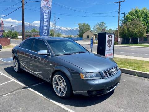 2004 Audi S4 for sale at The Car-Mart in Murray UT