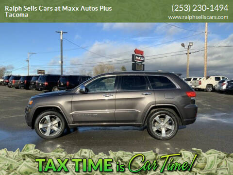 2015 Jeep Grand Cherokee for sale at Ralph Sells Cars at Maxx Autos Plus Tacoma in Tacoma WA