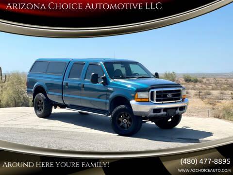 2000 Ford F-350 Super Duty for sale at Arizona Choice Automotive LLC in Mesa AZ