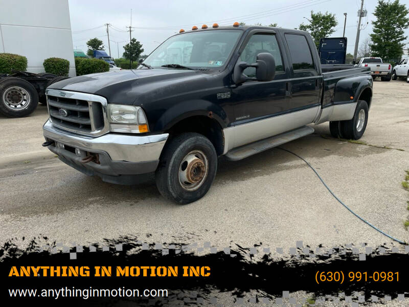 2002 Ford F-350 Super Duty for sale at ANYTHING IN MOTION INC in Bolingbrook IL