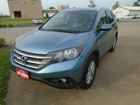 2014 Honda CR-V for sale at BOBS AUTOMOTIVE INC in Fairfield IA