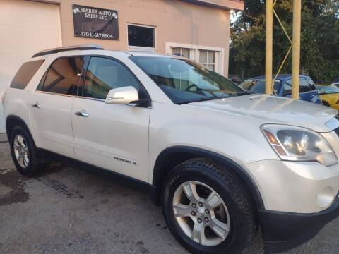 2008 GMC Acadia for sale at Sparks Auto Sales Etc in Alexis NC